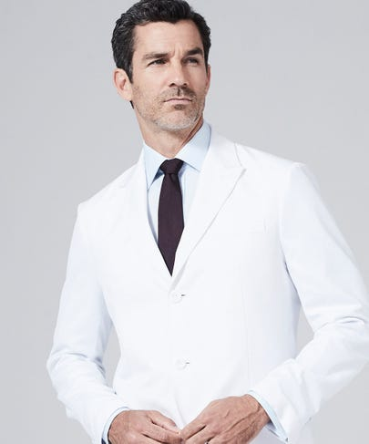 Bernard Slim Fit Lab Coat