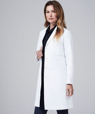 Emma W. women's lab coat
