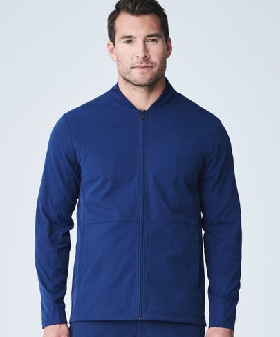 Men's kinetic scrub jacket
