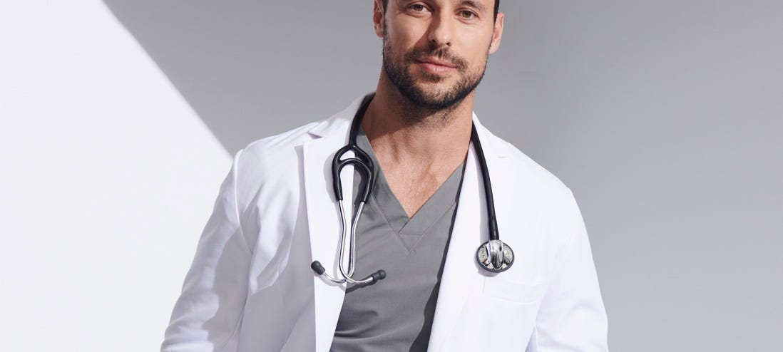 stethoscope on a doctor